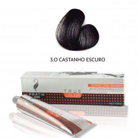 TINTA CASTANHO ESCURO 3-0 60g