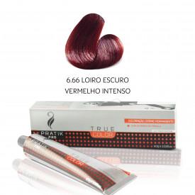 TINTA LOIRO ESCURO VERMELHO INTENSO 6-66 60g