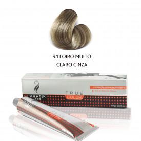 TINTA LOIRO MUITO CLARO CINZA 9-1 60g