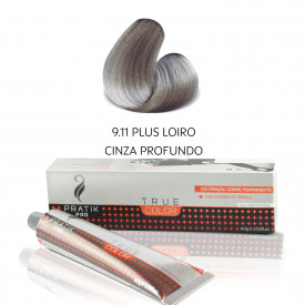 TINTA PLUS LOIRO CINZA PROFUNDO 9-11 60g