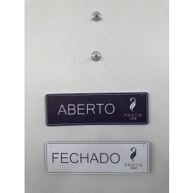 PLACA (ABERTO/FECHADO)